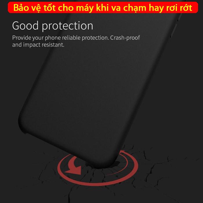 Ốp lưng iPhone Xs Max Nillkin Flex Case Silicon mềm mịn như da em bé 3