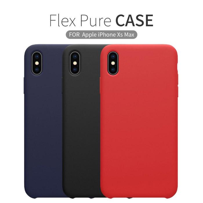 Ốp lưng iPhone Xs Max Nillkin Flex Case Silicon mềm mịn như da em bé 4