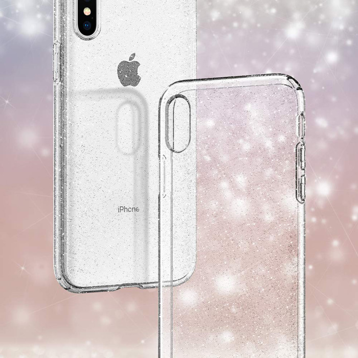 Ốp lưng iPhone Xs Max Spigen Liquid Crystal Glitter kim tuyến ( Hàng USA ) 8