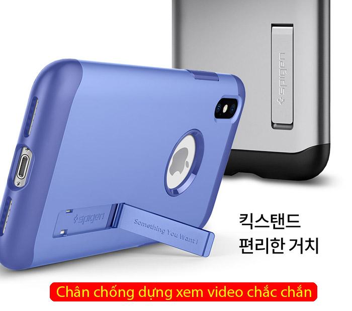 Ốp lưng iPhone Xs Max Spigen Slim Armor chống sốc ( Hàng USA ) 4