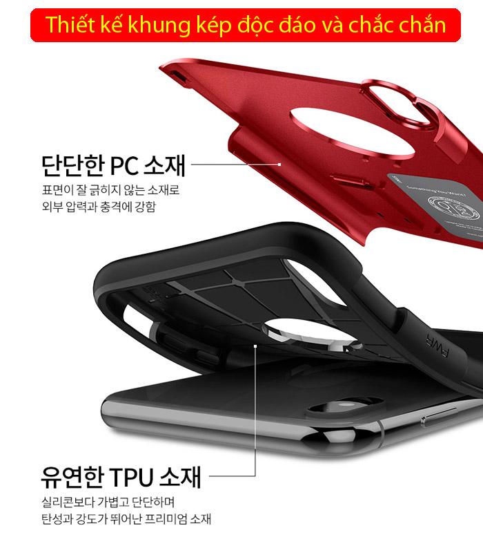Ốp lưng iPhone Xs Max Spigen Slim Armor chống sốc ( Hàng USA ) 2