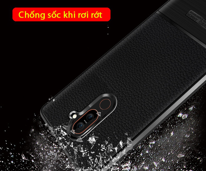 Ốp lưng Nokia 7 Plus Rugged Armor Ultimate Experience nhựa mềm chống sốc 3