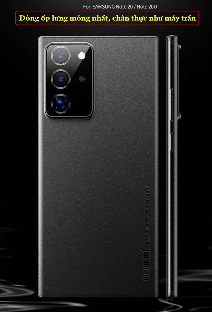 Ốp lưng Note 20 Ultra / 5G Memumi Slim 0.3mm - mỏng như giấy 1
