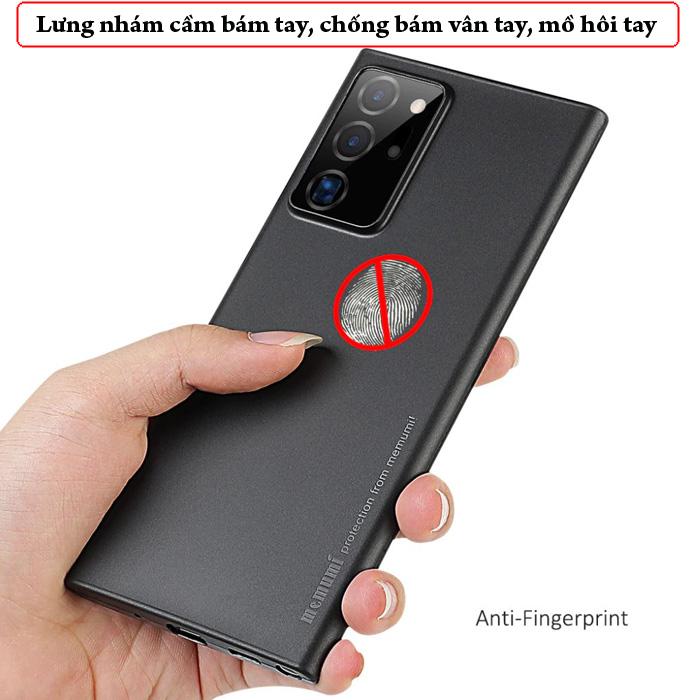 Ốp lưng Note 20 Ultra / 5G Memumi Slim 0.3mm - mỏng như giấy 3