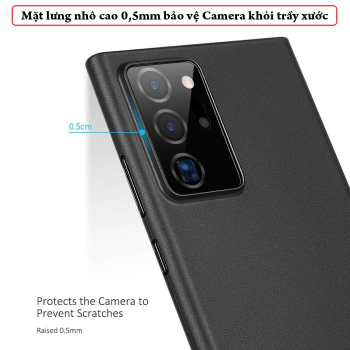 Ốp lưng Note 20 Ultra / 5G Memumi Slim 0.3mm - mỏng như giấy 5