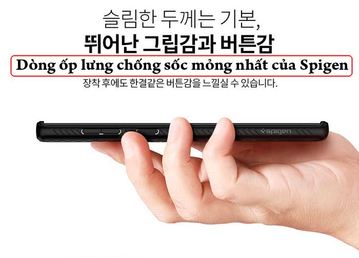 Ốp lưng Samsung Note 20 Ultra / 5G Spigen Liquid Air Armor từ Mỹ 2