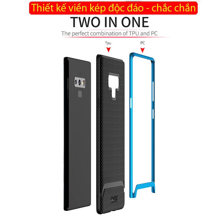 Ốp lưng Note 9 Ipaky Neo Hybrid viền kép chắc chắn sang trọng 1