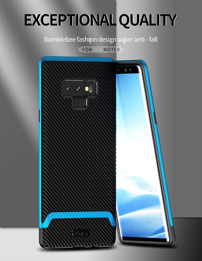 Ốp lưng Note 9 Ipaky Neo Hybrid viền kép chắc chắn sang trọng 3