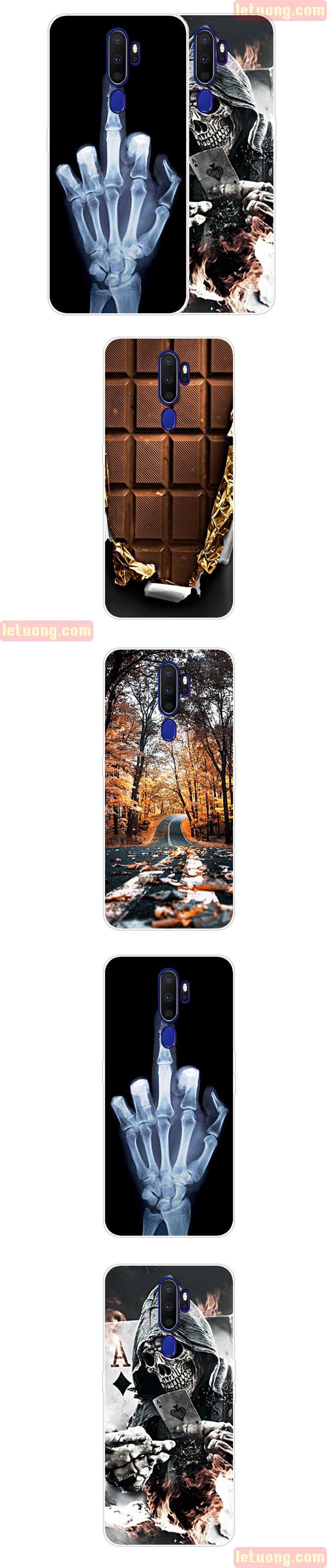 Ốp lưng Oppo A9 2020 LT TPU Case in hình 3D đẹp mắt, độc đáo 1