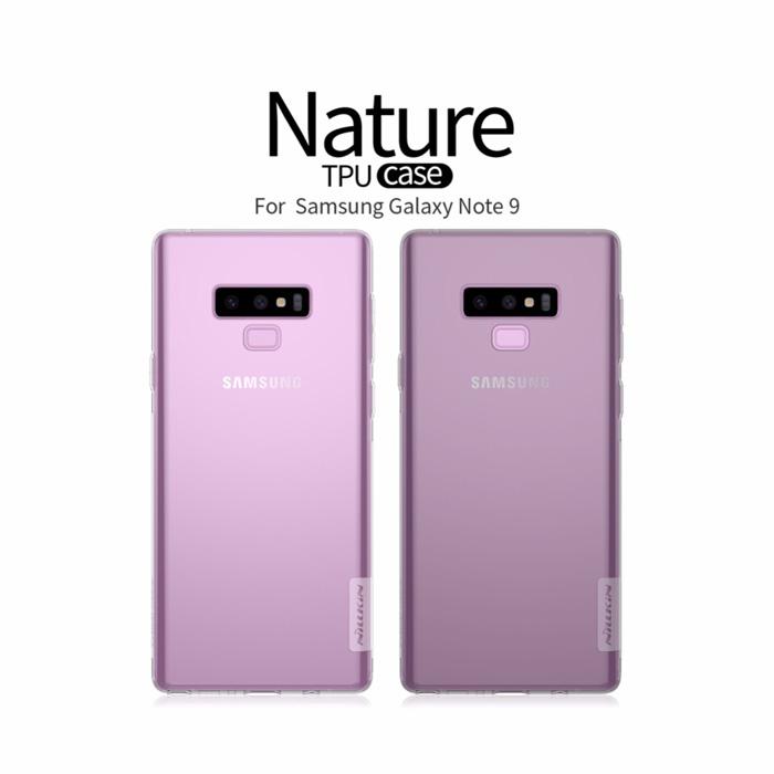 Ốp lưng Galaxy Note 9 Nillkin Nature TPU nhựa dẻo, trong suốt 0,6mm 1