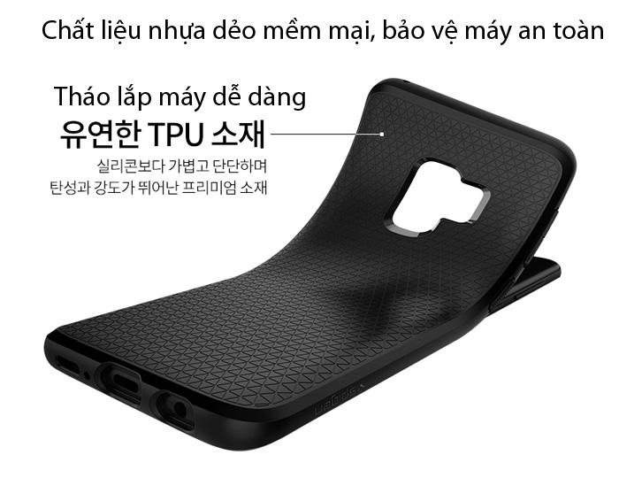 Ốp lưng Samsung Galaxy S9 Spigen Liquid Air chống sốc mỏng nhất từ Mỹ 2