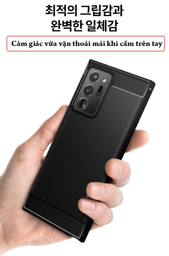 Ốp lưng Galaxy Note 20 Ultra / 5G Spigen Rugged Armor ( Hàng Mỹ ) 4