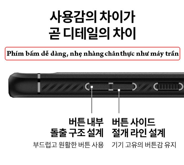 Ốp lưng Galaxy Note 20 Ultra / 5G Spigen Rugged Armor ( Hàng Mỹ ) 5