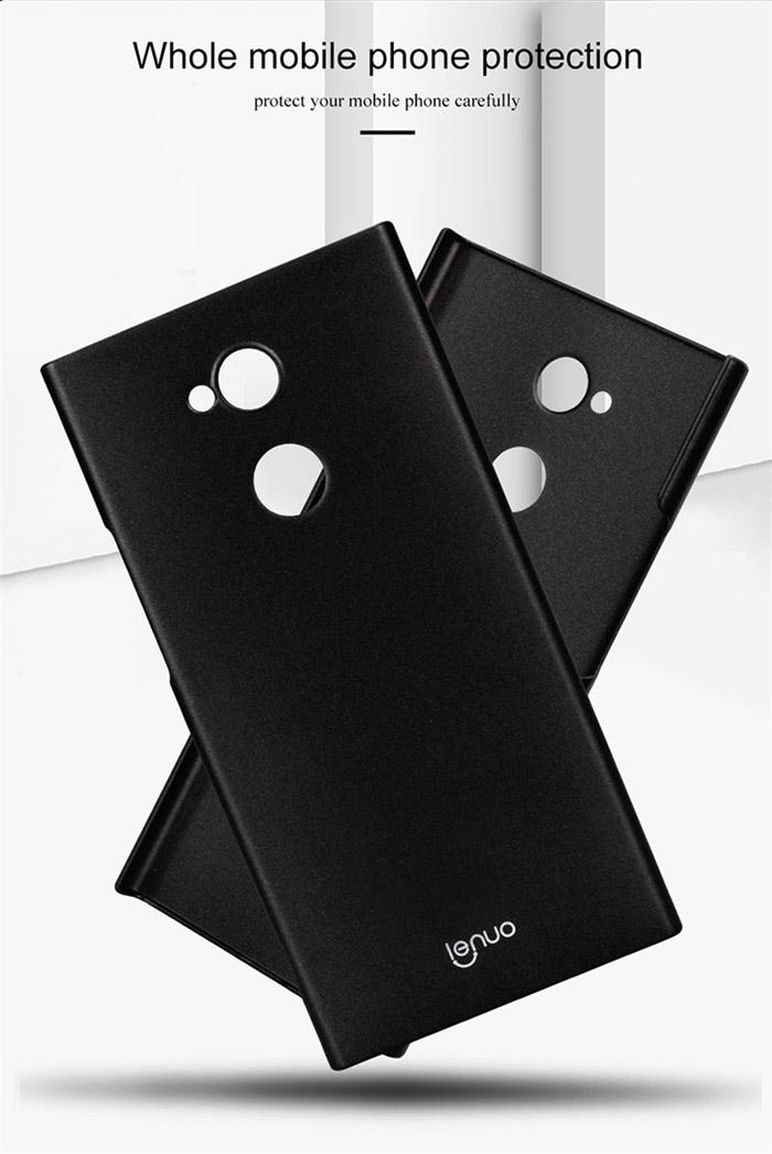 Ốp lưng Sony XA2 Ultra Lenuo Leshield Case siêu mỏng, lưng mịn 2