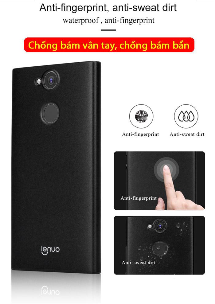 Ốp lưng Sony XA2 Ultra Lenuo Leshield Case siêu mỏng, lưng mịn 1