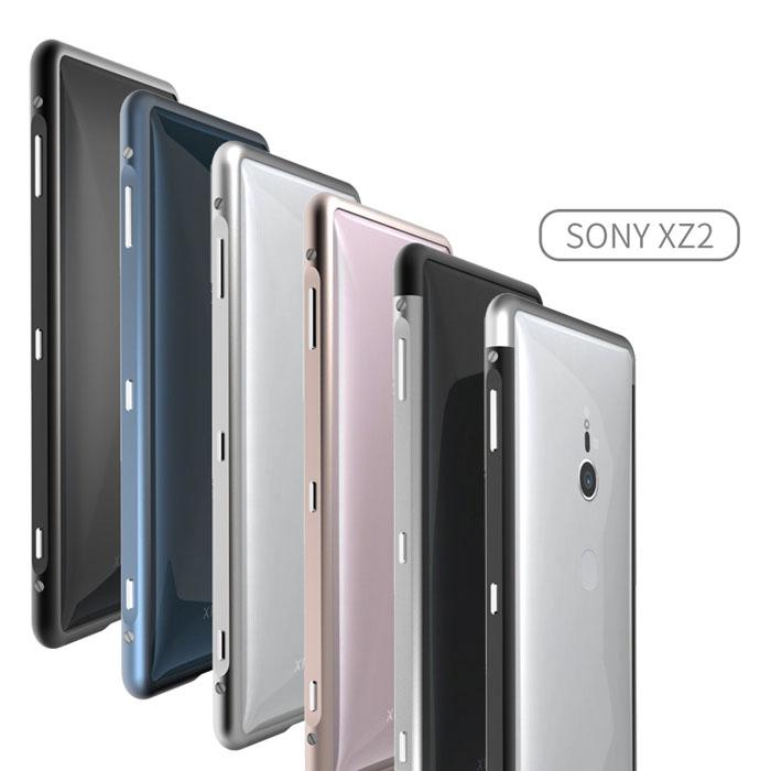 Ốp viền Sony Xperia XZ2 Sword Metal nhôm 6063 nguyên khối từ Japan 1