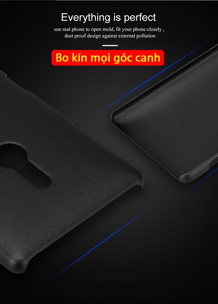 Ốp lưng Sony XZ2 Lenuo Leshield Case siêu mỏng, lưng mịn chống vân tay 2