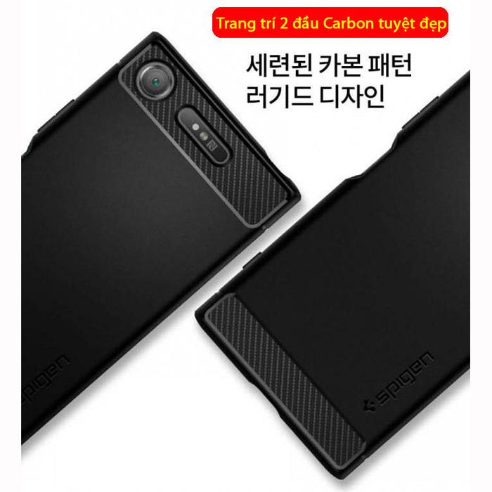 Ốp lưng Sony XZ1 Spigen Rugged Armor nhựa dẻo chống sốc từ USA 1