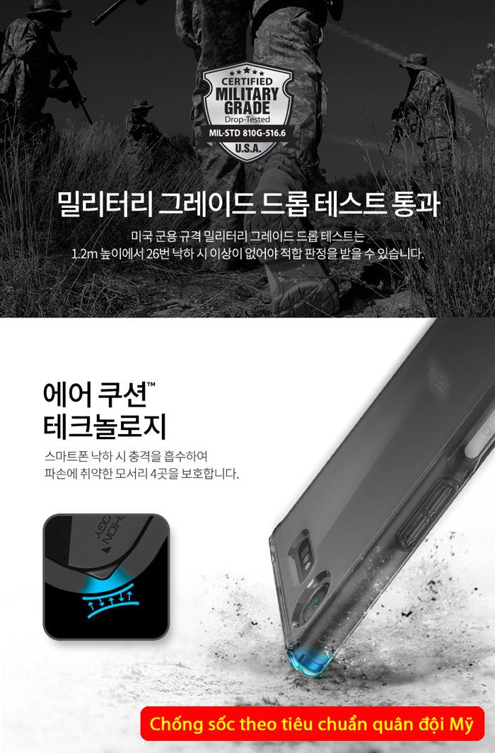 Ốp lưng Sony XZ1 Spigen Ultra Hybrid Crystal trong suốt từ USA 2