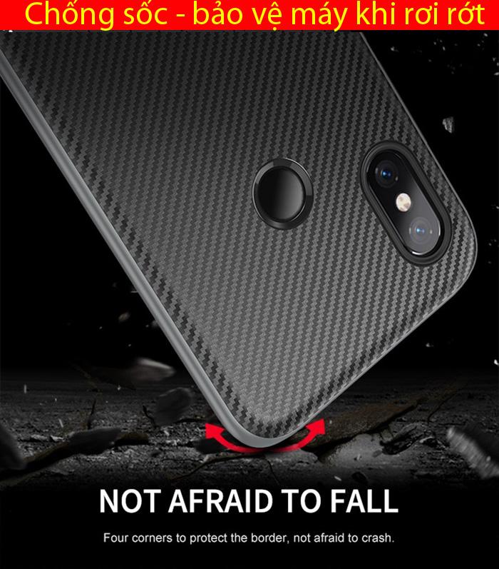 Ốp lưng Xiaomi Note 6 Pro Ipaky Neo Hybrid viền kép chắc chắn 2