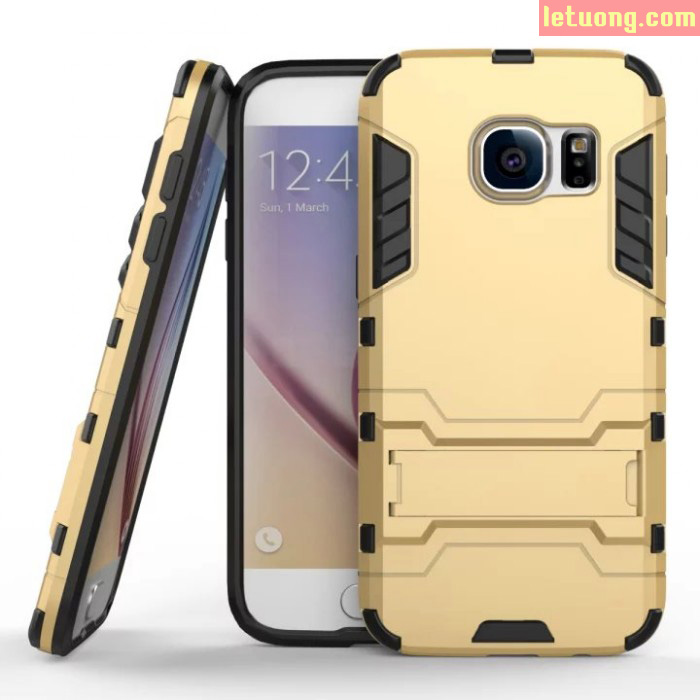 Ốp lưng Galaxy S7 LT Iron Man chống sốc, mạnh mẽ như người máy