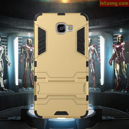 Ốp lưng Samsung Galaxy A9 Pro LT Iron Man mạnh mẽ như người máy