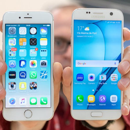 iPhone 6 'ăn đứt' Samsung Galaxy S7 và HTC 10
