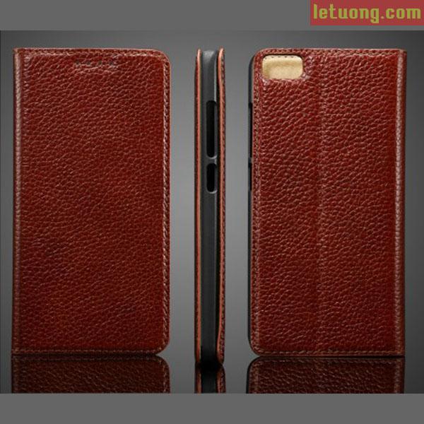 Bao da Xiaomi Mi 5 LT Leather da thật 100% bền bỉ sang trọng