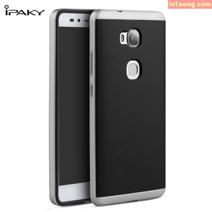 Ốp lưng Huawei GR5 Ipaky Case tuyệt đẹp với lưng nhựa và viền