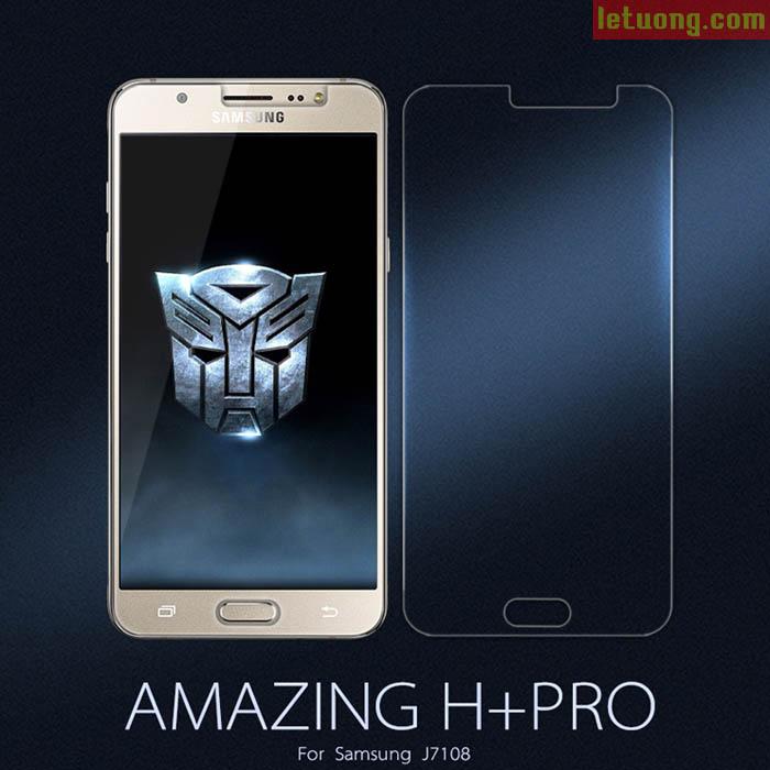 Kính cường lực Galaxy J7 2016 Nillkin Amazing H+ Pro 0,2mm