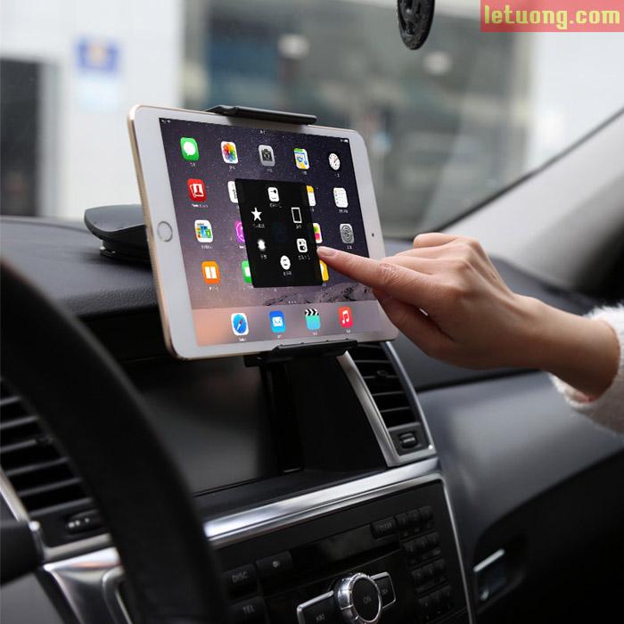 Giá đỡ Ipad máy tính bảng trên ô tô Baseus Batman xoay 360 độ