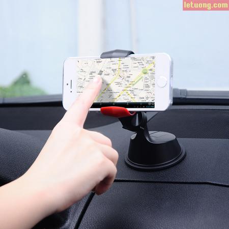 Giá đỡ điện thoại trên ô tô Baseus Smart Car Mount xoay 360 độ