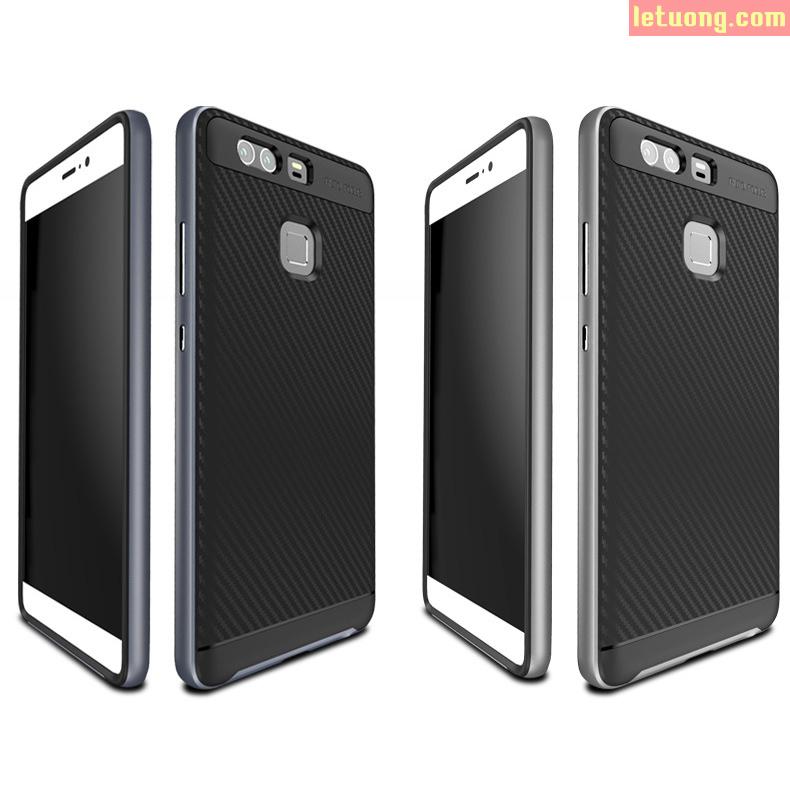 Ốp lưng Huawei P9 MSVii lưng Carbon đặc biệt, chống xước tốt