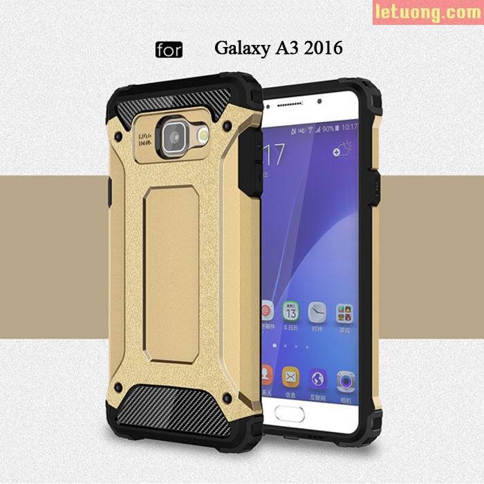 Ốp lưng Galaxy A3 2016 SGP Tough Tech Armor hầm hố, rất ngầu