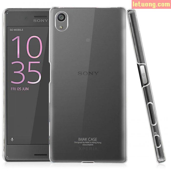 Ốp lưng Sony XA Imak Nano trong suốt không bị ố vàng