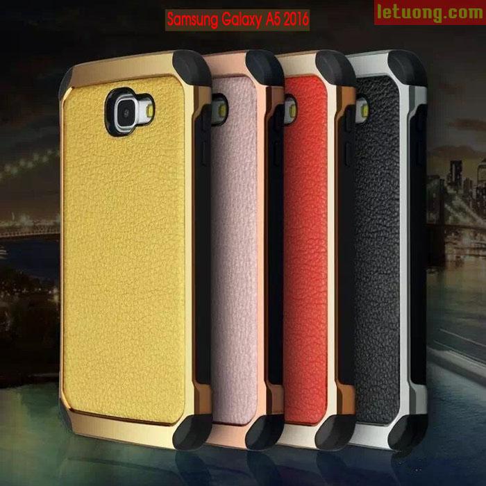 Ốp lưng Galaxy A5 2016 NX Case lưng da sang trọng, chống sốc