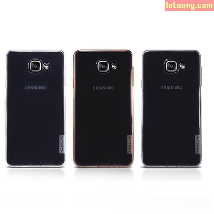 Ốp lưng Galaxy A5 2016 Nillkin TPU nhựa dẻo trong suốt 0,6mm