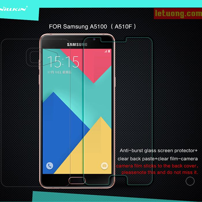 Kính cường lực Samsung A5 2016 Nillkin Amazing độ cứng 9H