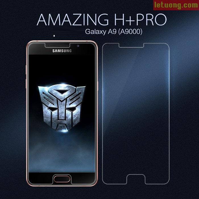 Kính cường lực Galaxy A9 Pro Nillkin Amazing H+ Pro Mỏng 0,2mm