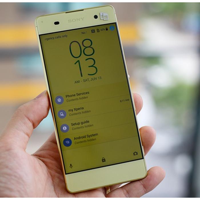 Xperia XA là mẫu Android 2 sim tầm trung giá 7 triệu đồng vừa có mặt tại thị trường Việt Nam.