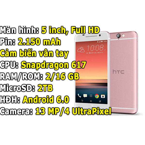 Mới đây, chiếc smartphone One A9 đã được hãng điện thoại HTC hạ giá bán ở thị trường Việt Nam từ 10,99 triệu đồng xuống còn 8,99 triệu đồng.