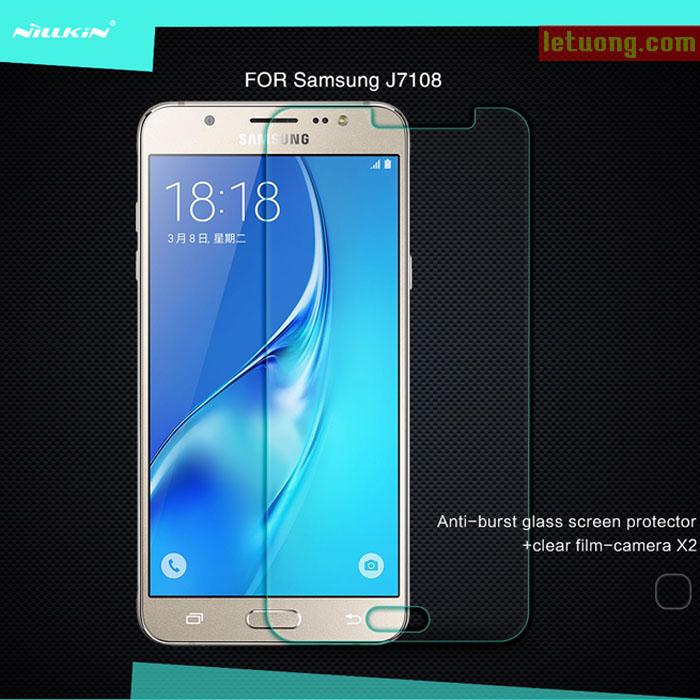 Kính cường lực Samsung J7 2016 Nillkin Amazing độ cứng 9H