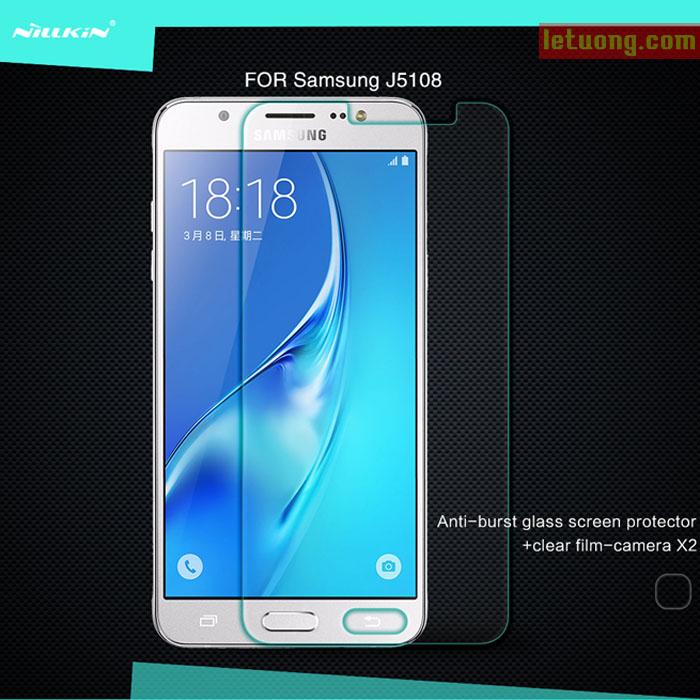 Kính cường lực Samsung J5 2016 Nillkin Amazing độ cứng 9H