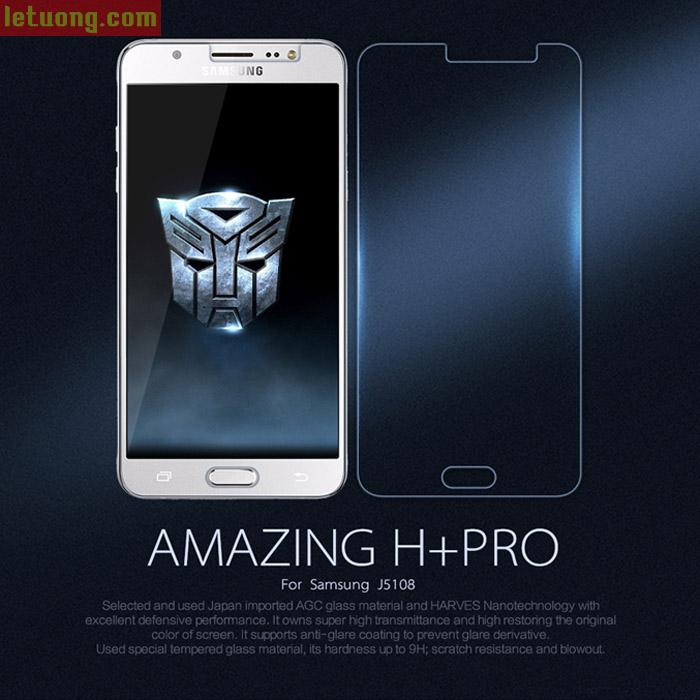 Kính cường lực Galaxy J5 2016 Nillkin Amazing H+ Pro 0,2mm