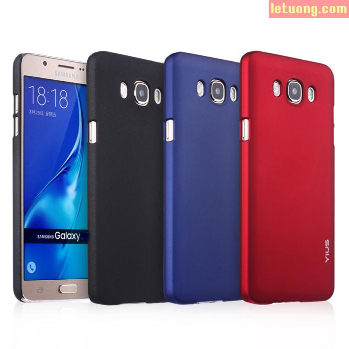 Ốp lưng Samsung J5 2016 Yius Case lưng nhung mịn như da em bé