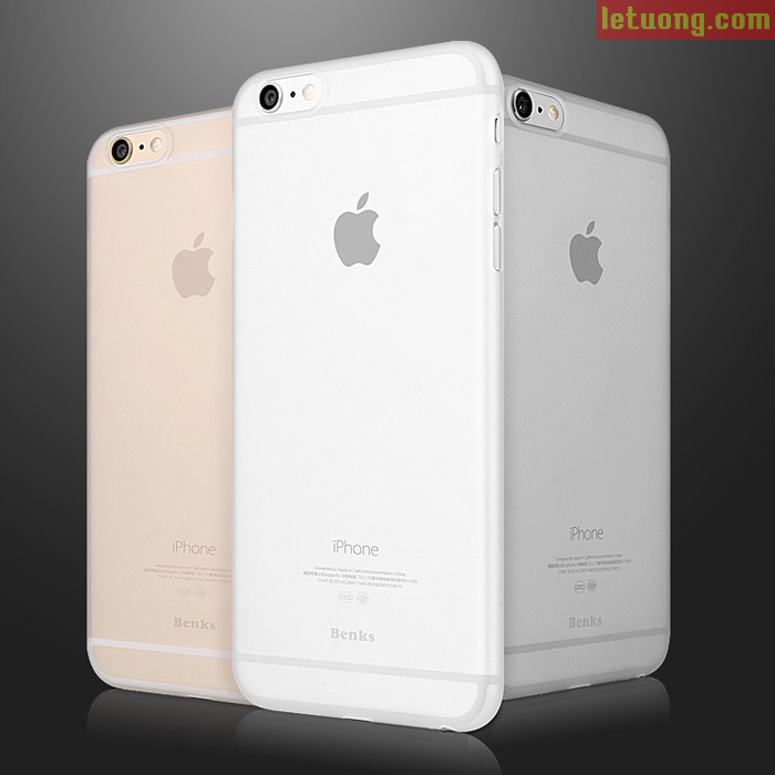 Ốp lưng Iphone 6/6S Benks Magic Lollipop mỏng nhẹ 0,4mm, 4g