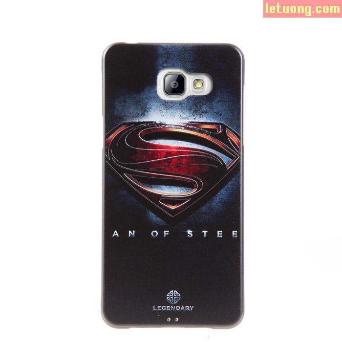 Ốp lưng Galaxy A5 2016 Mycolor Avengers 3D + Kính cường lực