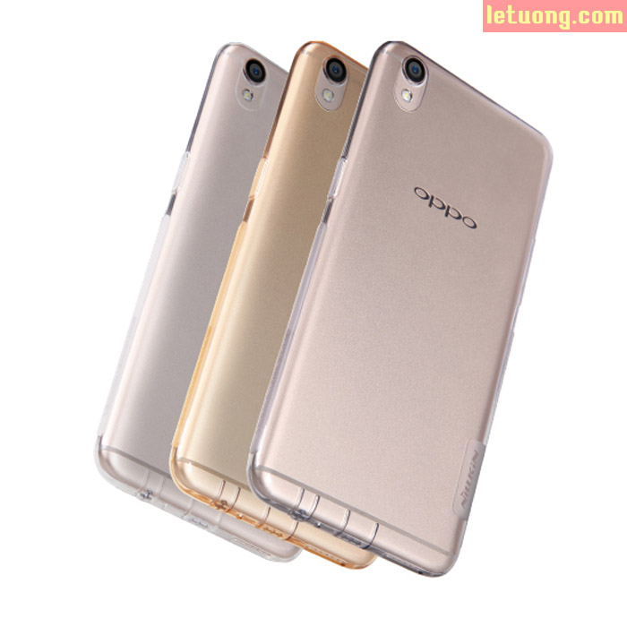 Ốp lưng Oppo F1 Plus/R9 Nillkin Nature nhựa mềm trong suốt 0,6mm