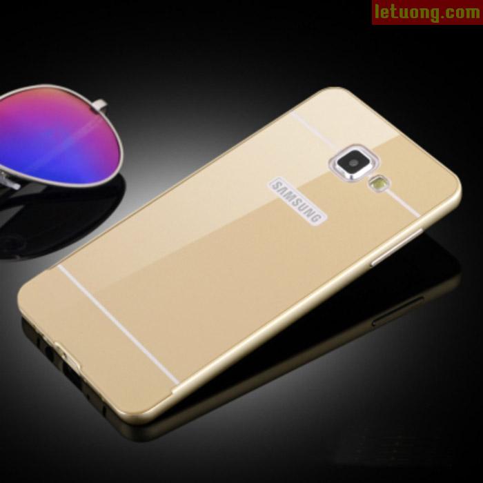 Ốp lưng Galaxy A7 2016 LT Armor Metal viền nhôm lưng như Iphone