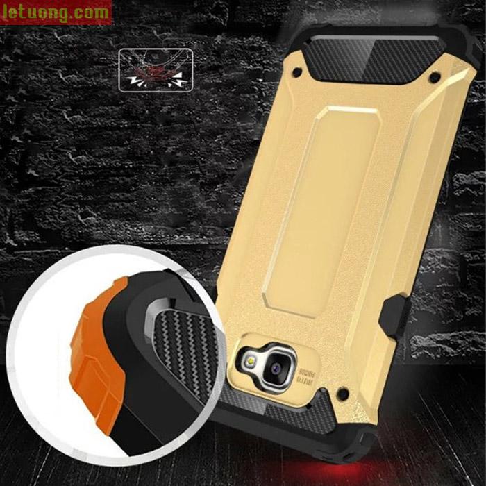 Ốp lưng Galaxy A9 Pro LT Tough Tech Armor + kính cường lực